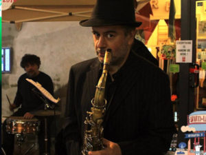 sax per feste private Milano